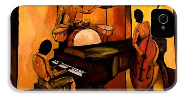 The 1st Jazz Trio IPhone 4 Case by Larry Martin
