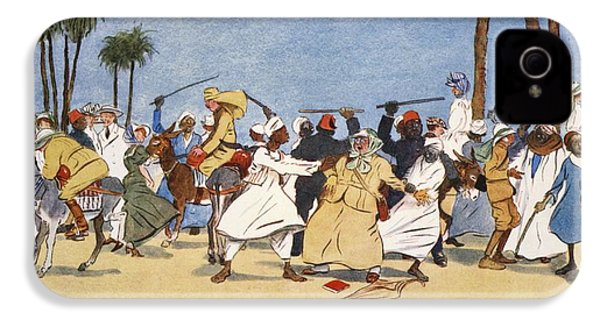 The Battle Of The Nile, From The Light IPhone 4 Case by Lance Thackeray