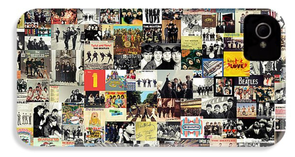 The Beatles Collage IPhone 4 Case