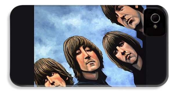 The Beatles Rubber Soul IPhone 4 Case by Paul Meijering