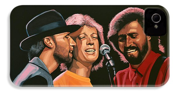 The Bee Gees IPhone 4 Case by Paul Meijering