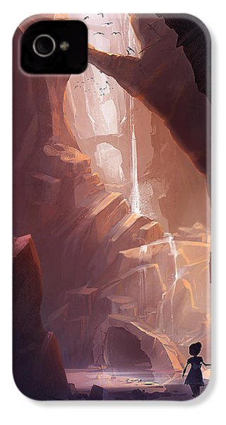 The Big Friendly Giant IPhone 4 Case by Kristina Vardazaryan