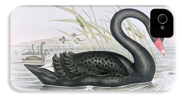The Black Swan IPhone 4 Case by John Gould