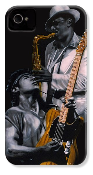 Bruce Springsteen And Clarence Clemons IPhone 4 Case