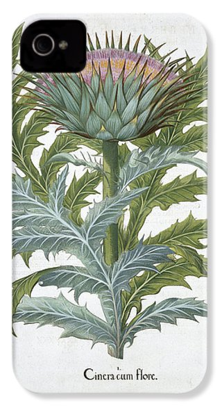 The Cardoon, From The Hortus IPhone 4 Case by German School