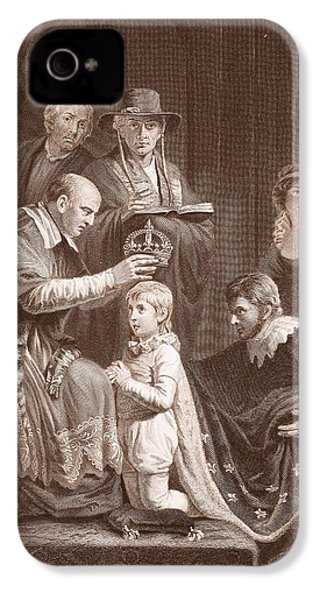 The Coronation Of Henry Vi, Engraved IPhone 4 / 4s Case by John Opie