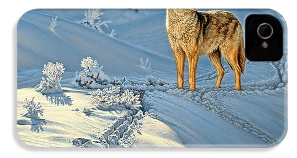 the Coyote - God's Dog IPhone 4 Case