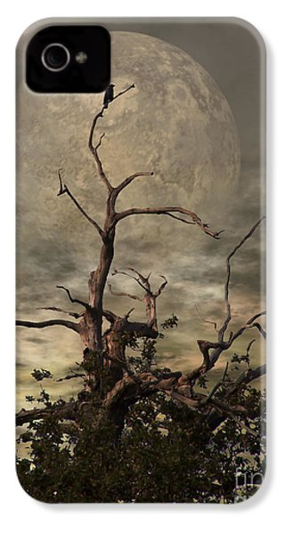 The Crow Tree IPhone 4 / 4s Case by Isabella F Abbie Shores FRSA