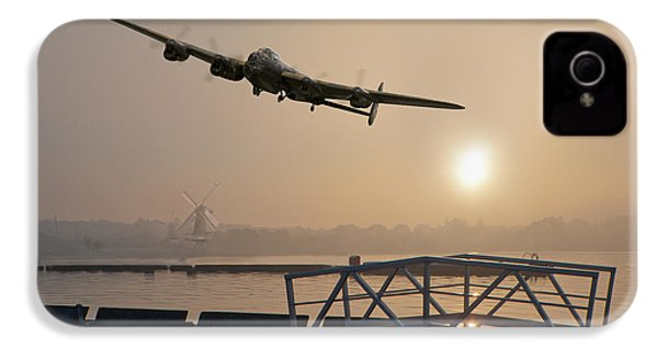 The Dambusters - Last One Home IPhone 4 Case by Gary Eason