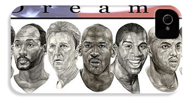 the Dream Team IPhone 4 / 4s Case by Tamir Barkan