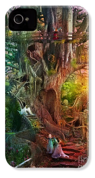 The Dreaming Tree IPhone 4 Case by Aimee Stewart