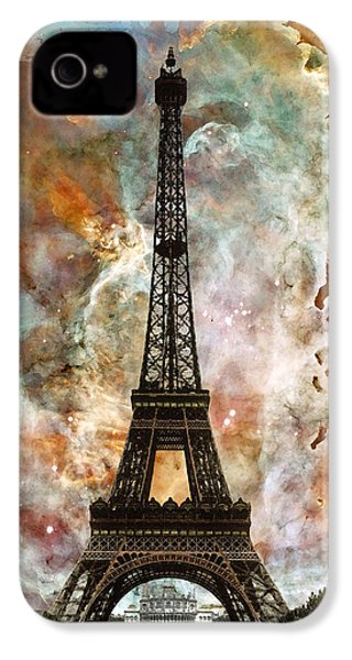 The Eiffel Tower - Paris France Art By Sharon Cummings IPhone 4 Case