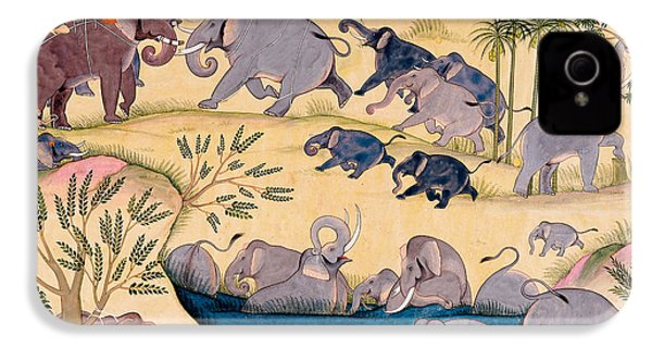 The Elephant Hunt IPhone 4 Case
