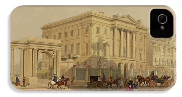The Exterior Of Apsley House, 1853 IPhone 4 Case by English School