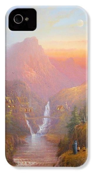 The Fellowship Of The Ring IPhone 4 Case by Joe  Gilronan