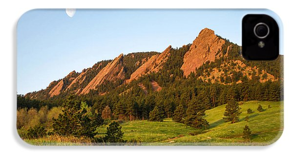 The Flatirons - Spring IPhone 4 Case by Aaron Spong