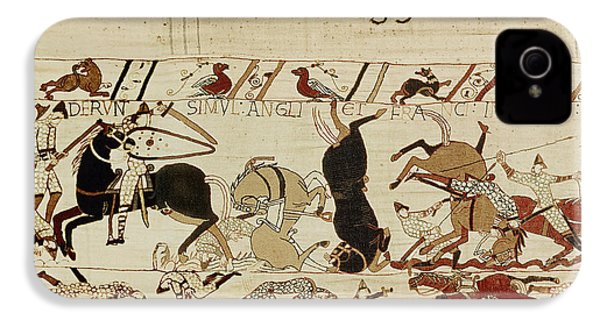 The Bayeux Tapestry IPhone 4 Case by French School