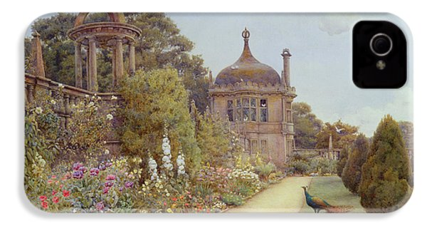 The Gardens At Montacute In Somerset IPhone 4 Case by Ernest Arthur Rowe