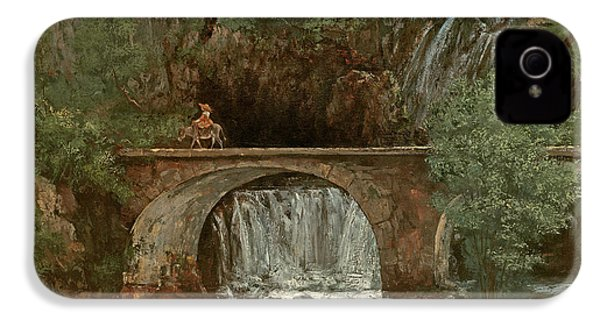 The Great Bridge, 1864 IPhone 4 Case by Gustave Courbet