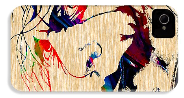 The Joker Heath Ledger Collection IPhone 4 Case by Marvin Blaine