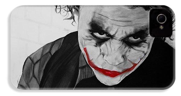 The Joker IPhone 4 Case by Robert Bateman