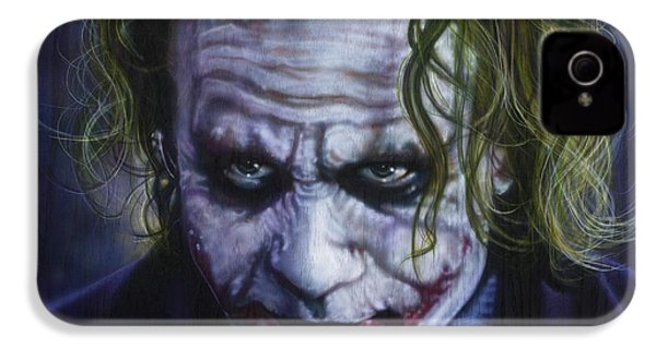 The Joker IPhone 4 Case by Timothy Scoggins