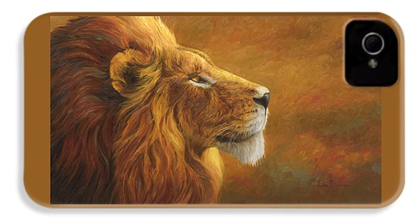 The King IPhone 4 Case by Lucie Bilodeau