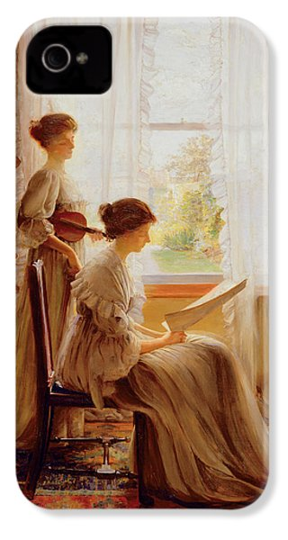 The Music Lesson, C.1890 IPhone 4 / 4s Case by American School