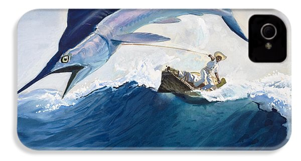 The Old Man And The Sea IPhone 4 / 4s Case by Harry G Seabright