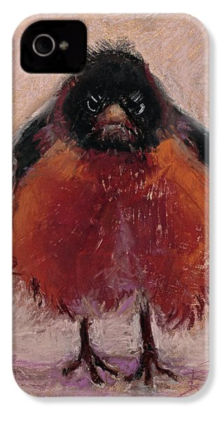 The Original Angry Bird IPhone 4 / 4s Case by Billie Colson