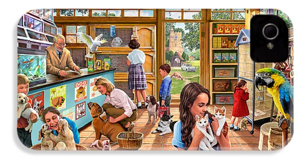 The Pet Shop IPhone 4 Case by Steve Crisp