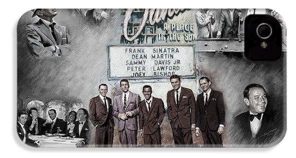 The Rat Pack IPhone 4 Case