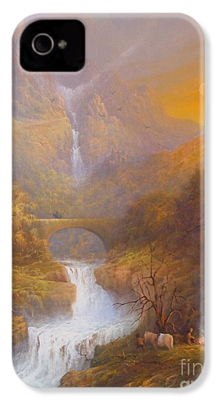 The Road To Rivendell The Lord Of The Rings Tolkien Inspired Art  IPhone 4 / 4s Case by Joe  Gilronan