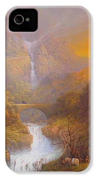 The Road To Rivendell The Lord Of The Rings Tolkien Inspired Art  IPhone 4 Case by Joe  Gilronan
