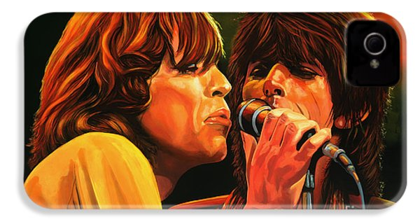 The Rolling Stones IPhone 4 Case by Paul Meijering
