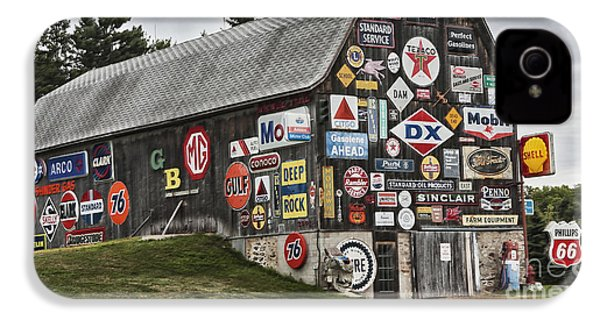 The Sign Barn IPhone 4 Case by Ricky L Jones