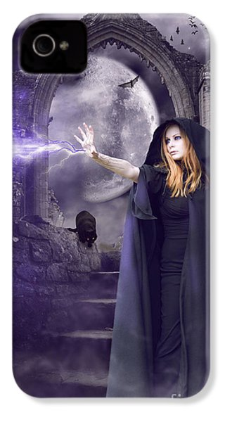 The Spell Is Cast IPhone 4 Case by Linda Lees