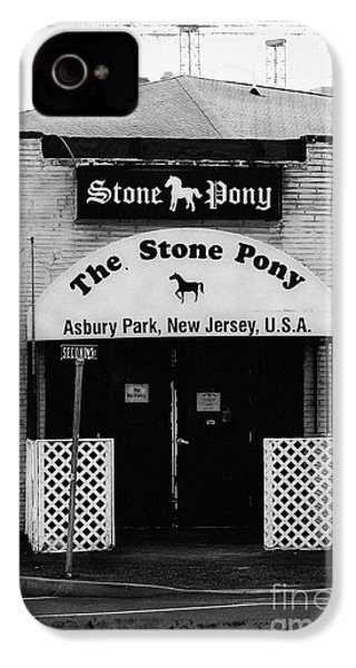 The Stone Pony IPhone 4 Case by Colleen Kammerer
