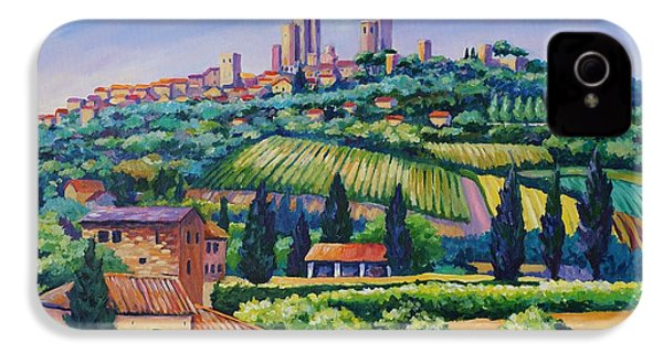 The Towers Of San Gimignano IPhone 4 Case