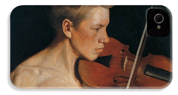 The Violinist IPhone 4 / 4s Case by Celestial Images