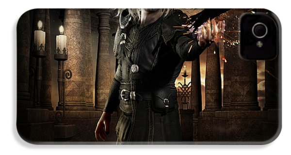 The Warlock IPhone 4 Case by Shanina Conway