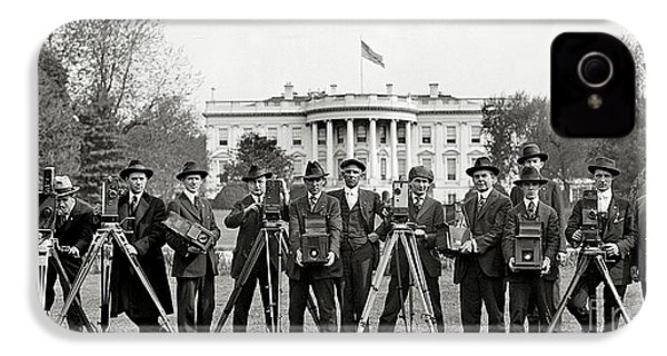 The White House Photographers IPhone 4 Case