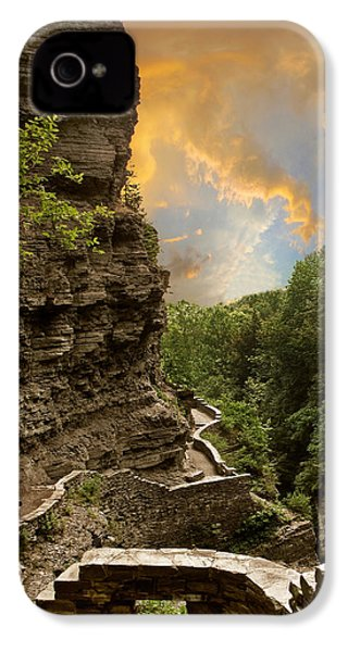 The Winding Trail IPhone 4 Case by Jessica Jenney