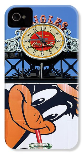 Thirsty Oriole IPhone 4 Case by James Brunker