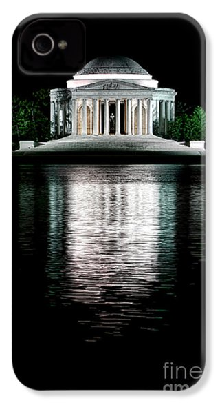 Thomas Jefferson Forever IPhone 4 Case by Olivier Le Queinec