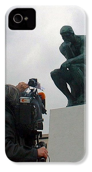 IPhone 4 Case featuring the photograph Thought Picture by Marc Philippe Joly