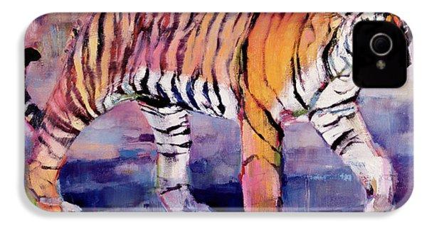 Tigress, Khana, India IPhone 4 / 4s Case by Mark Adlington