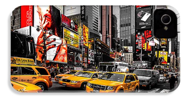 Times Square Taxis IPhone 4 Case