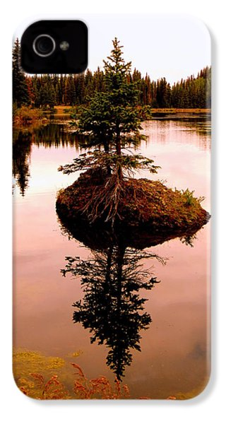 IPhone 4 Case featuring the photograph Tiny Island by Karen Shackles