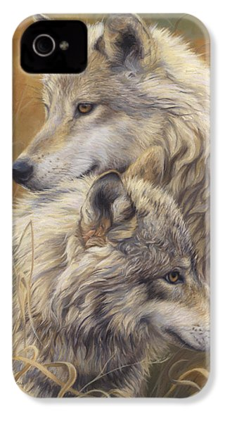 Together IPhone 4 / 4s Case by Lucie Bilodeau